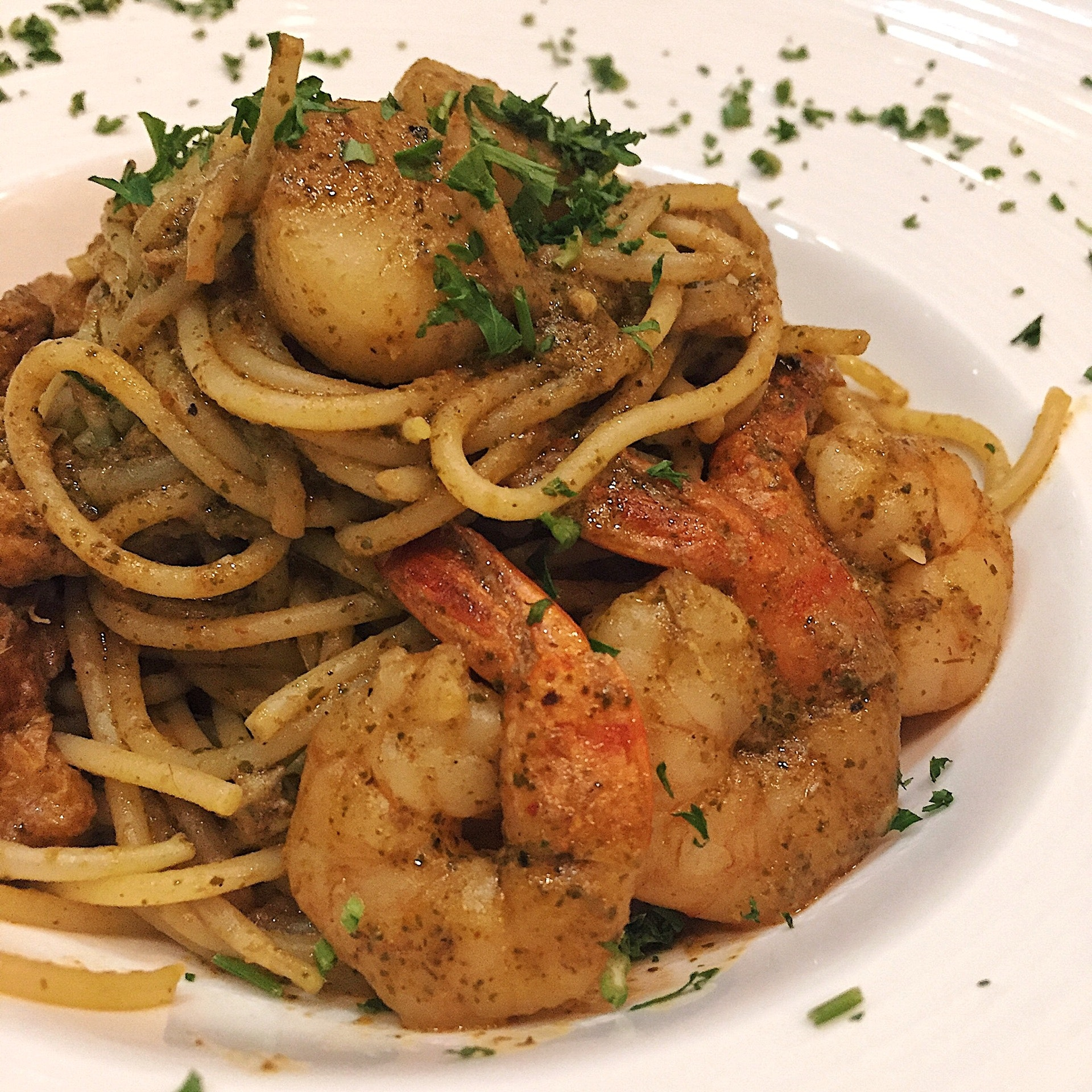 Laksa Spaghetti ($16)