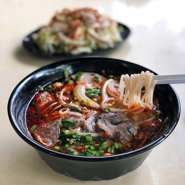 Spicy Beef Noodles ($6)