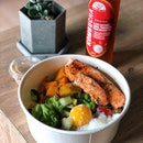 Baked Salmon Bowl ($9.90)