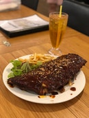 BBQ Pork Ribs ($28~ not too sure😂)