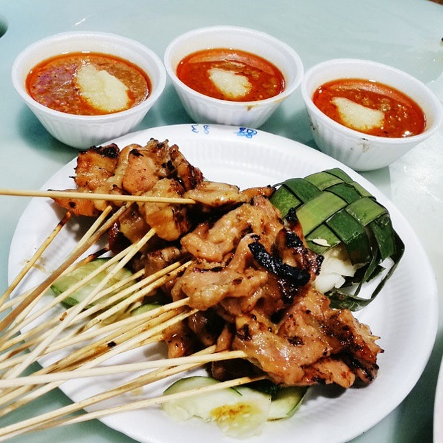 Old Punggol Satay🍢 Waited for 45 mins & it's all worth it!