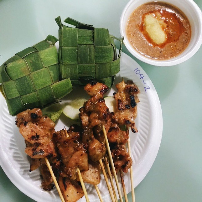 "Had the most famous ""Old Punggol Satay""🍢 too."