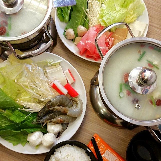 Le Le pot 乐乐锅🍲 My favorite place for #brunch w/ my colleagues.