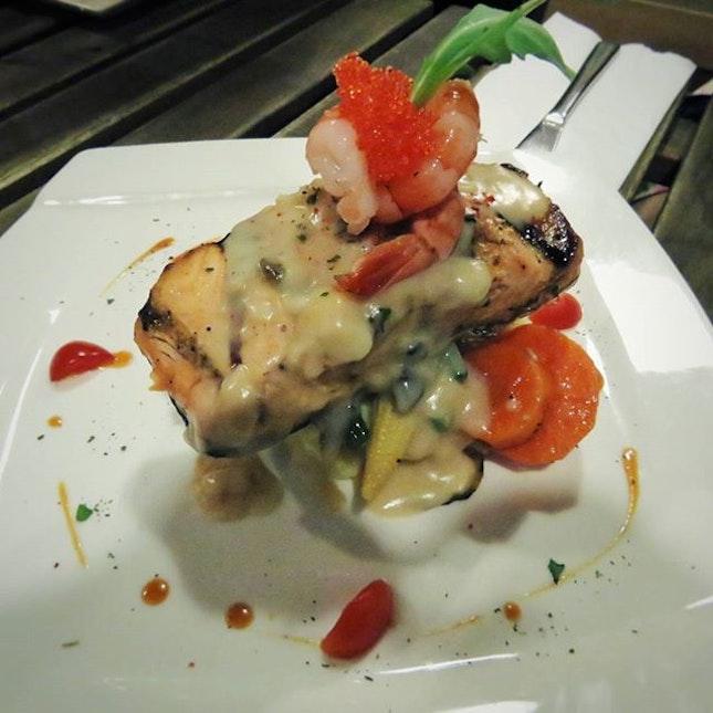 || King Salmon Steak || $14.90  One of the best salmon steak I ever eaten.