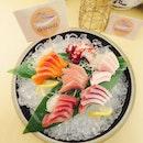 [Shinkei Japanese Restaurant] Sashimi Moriwase; Salmon,Swordfish,Tuna, Octopus & etc.
