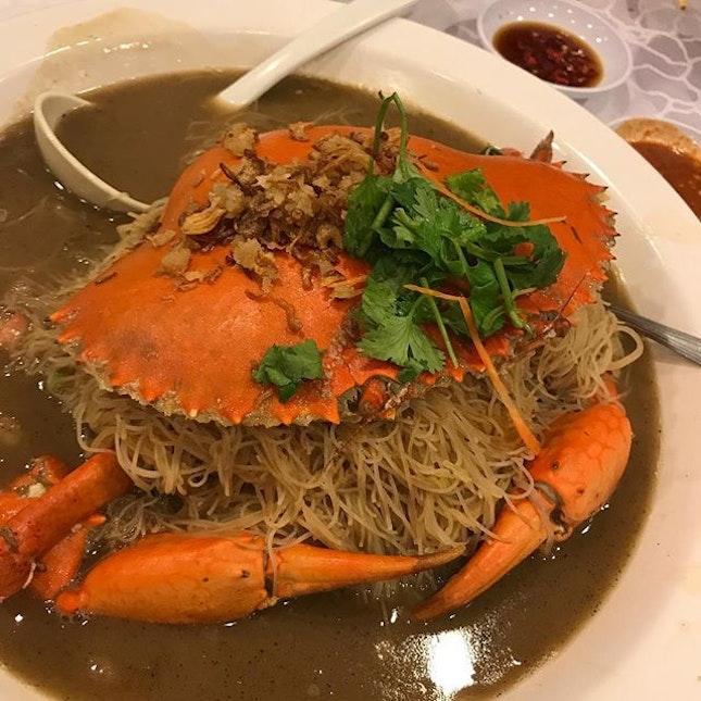 Best crab bee hoon #ever #period #burpple #gettingfatwhilewaiting #whilewaitingfortheloml #lomljns #lomljnck