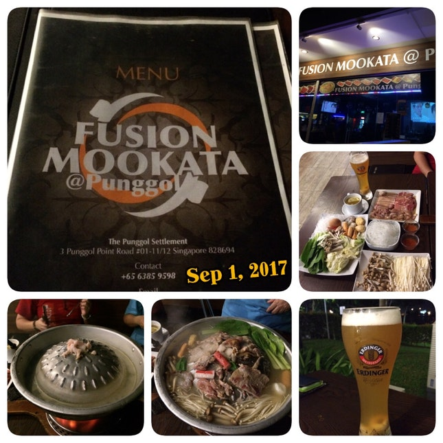 Awesome Mookata Dinner 😋