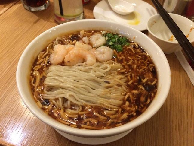 Hot & Spicy Shrimp La Mian