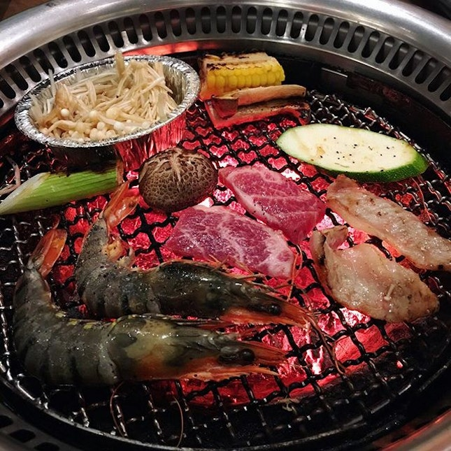 Tajimaya has been around at Vivo City for a long time and it remains one of our favourites for good charcoal grill.