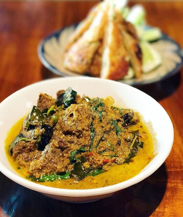 Their green curry was nothing like that you would be familiar with from the usual Thai kitchens.