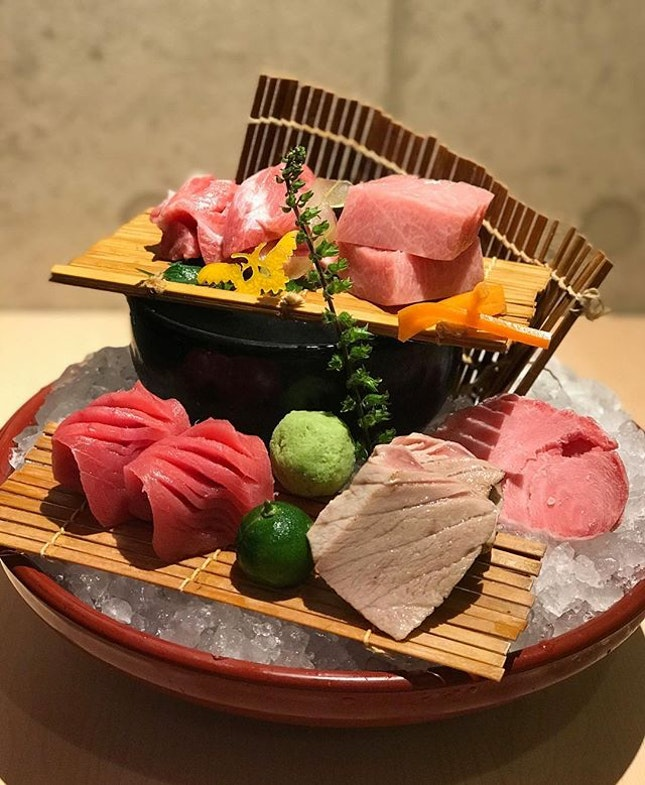 Hon Maguro - most prized species of the bluefin tuna.