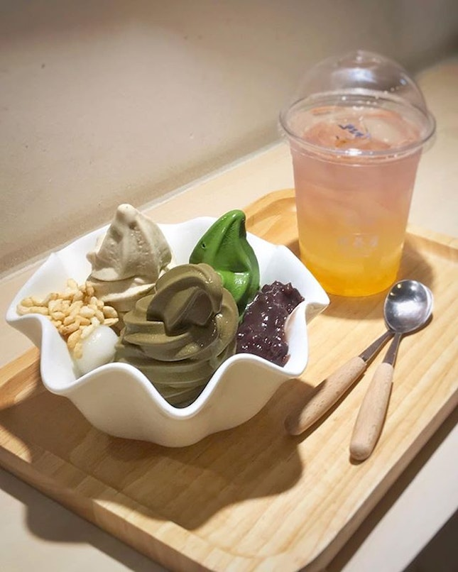 Adding white sesame to our trio of Hojicha and Matcha, because white was really better than black in this case.