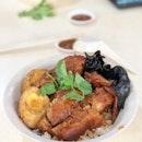 Thinking of 滷肉飯, pork trotter, etc.