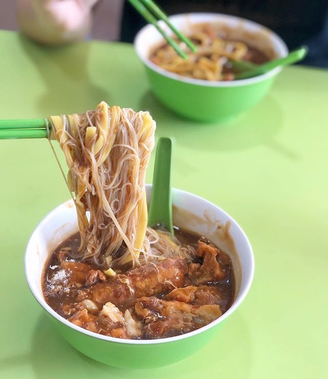 "A ""famous"" Lor Mee that was indeed tasty for its flavourful gravy with good consistency."