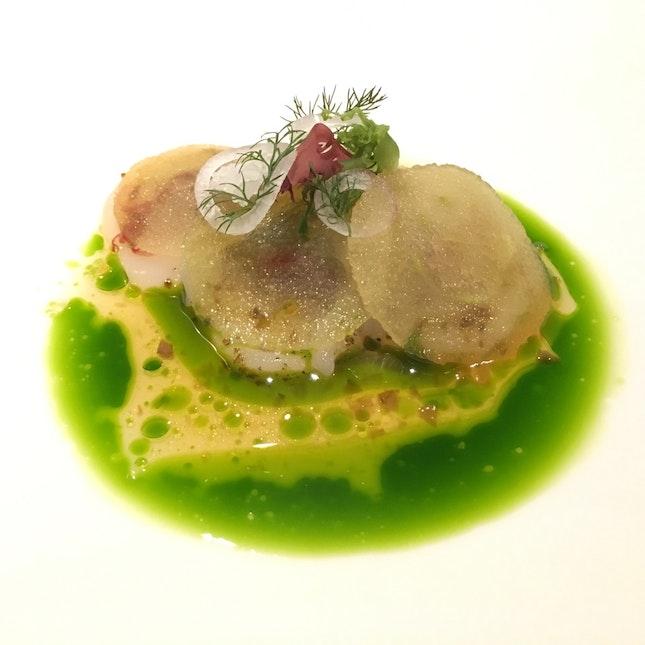 Sashimi Of Hokkaido Scallop