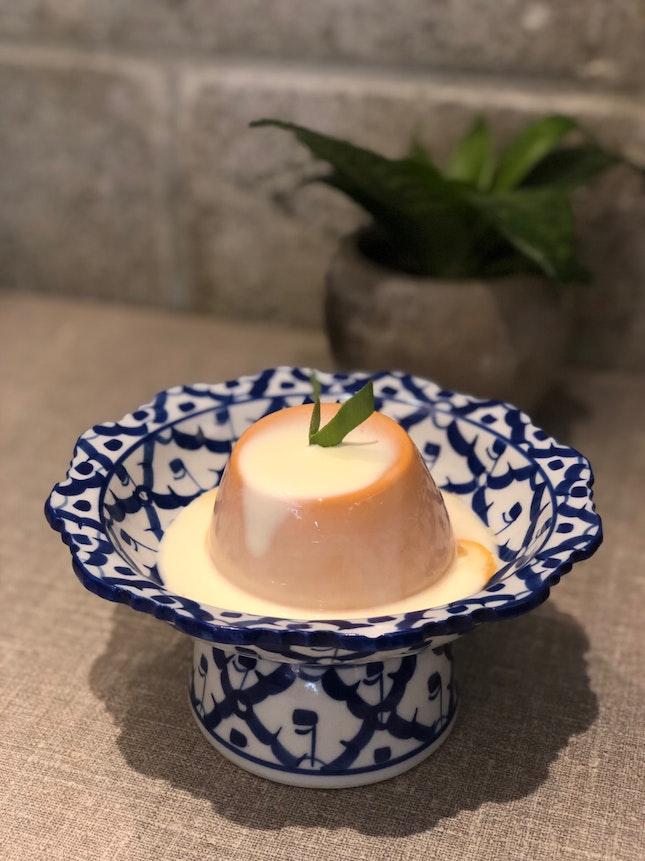 Thai Milk Tea Pudding