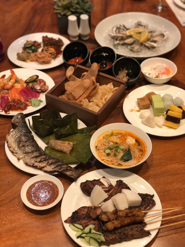 Indonesian Specialities Buffet
