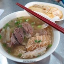 Triple happiness in a bowl🍲 Beef Brisket, Tendon and Tripe Soup Noodle😄  #delicious #food #beefsoup #michelinstar