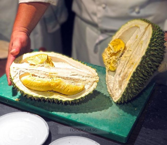 King of fruit, Durian has invaded into Swissotel Merchant Court.