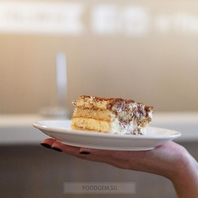 Melts in your mouth and light sponge cake layers are soaked with intense espresso 😋.