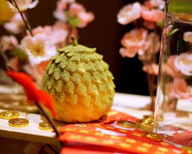 Made with real durian flesh, right amount of durian to impart fragrance and taste without overpowering the dish.