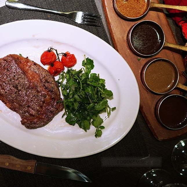 Famed for its steak, great care is taken and prepared by experienced chefs.