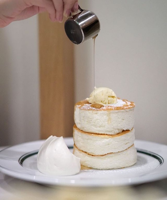 Gram Café & Pancakes all hailed from Osaka, Japan has officially open its door today!
