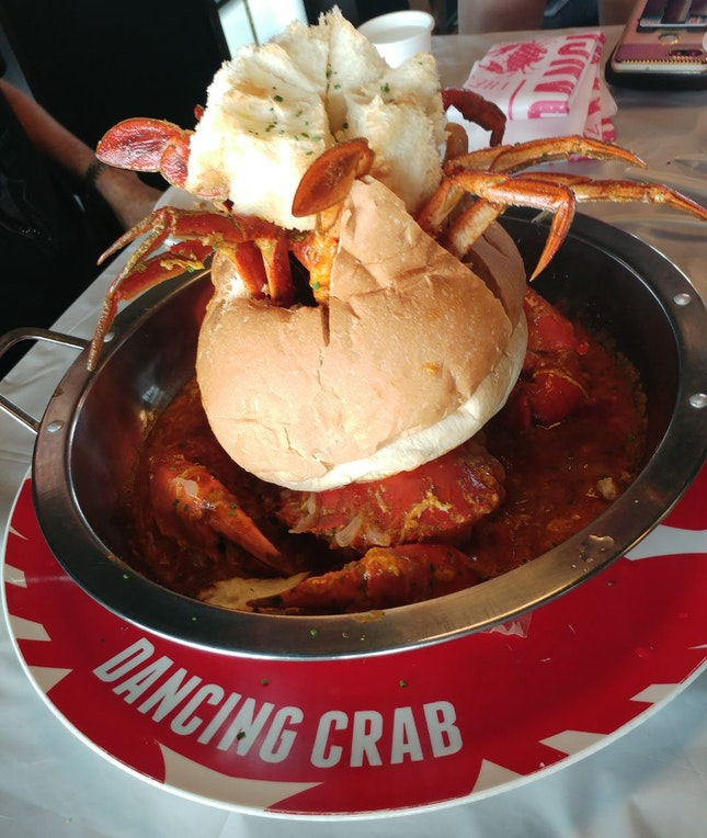 Chilli Crab Bread Bowl [$97]