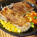Fish + Chicken + Veggies