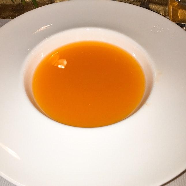 Carrot & Orange Cold Soup