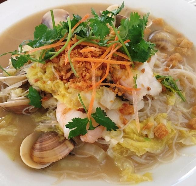 Seafood White Mee Hoon