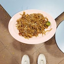 My ultra comfort food: Fried Kway Teow.