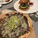 Truffle Pizza And Truffle Burger