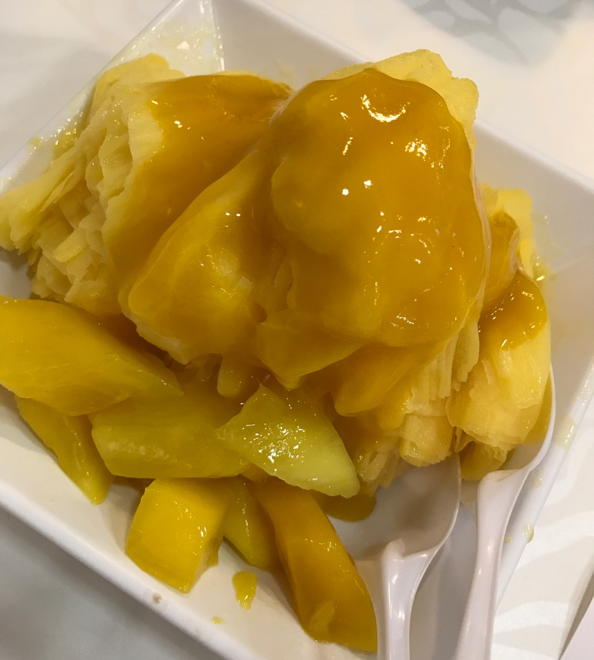Mango Snow Ice ($5)