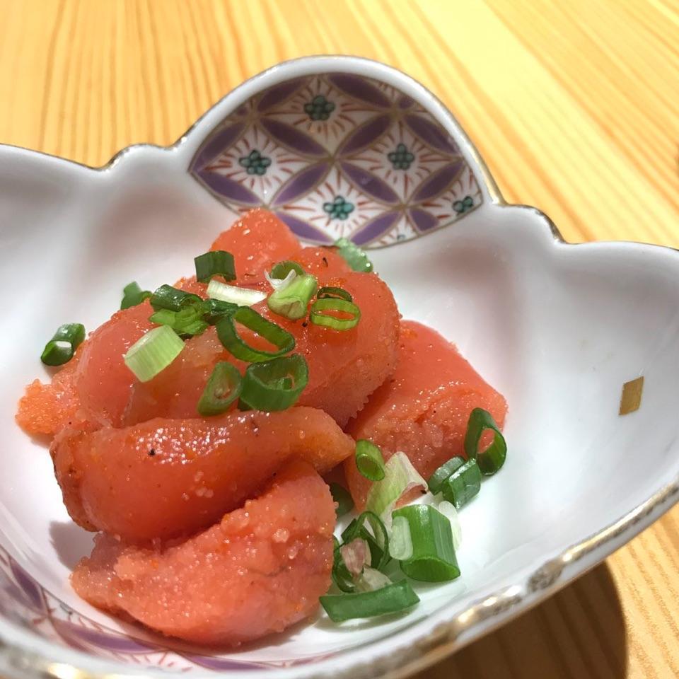 Homemade Mentaiko