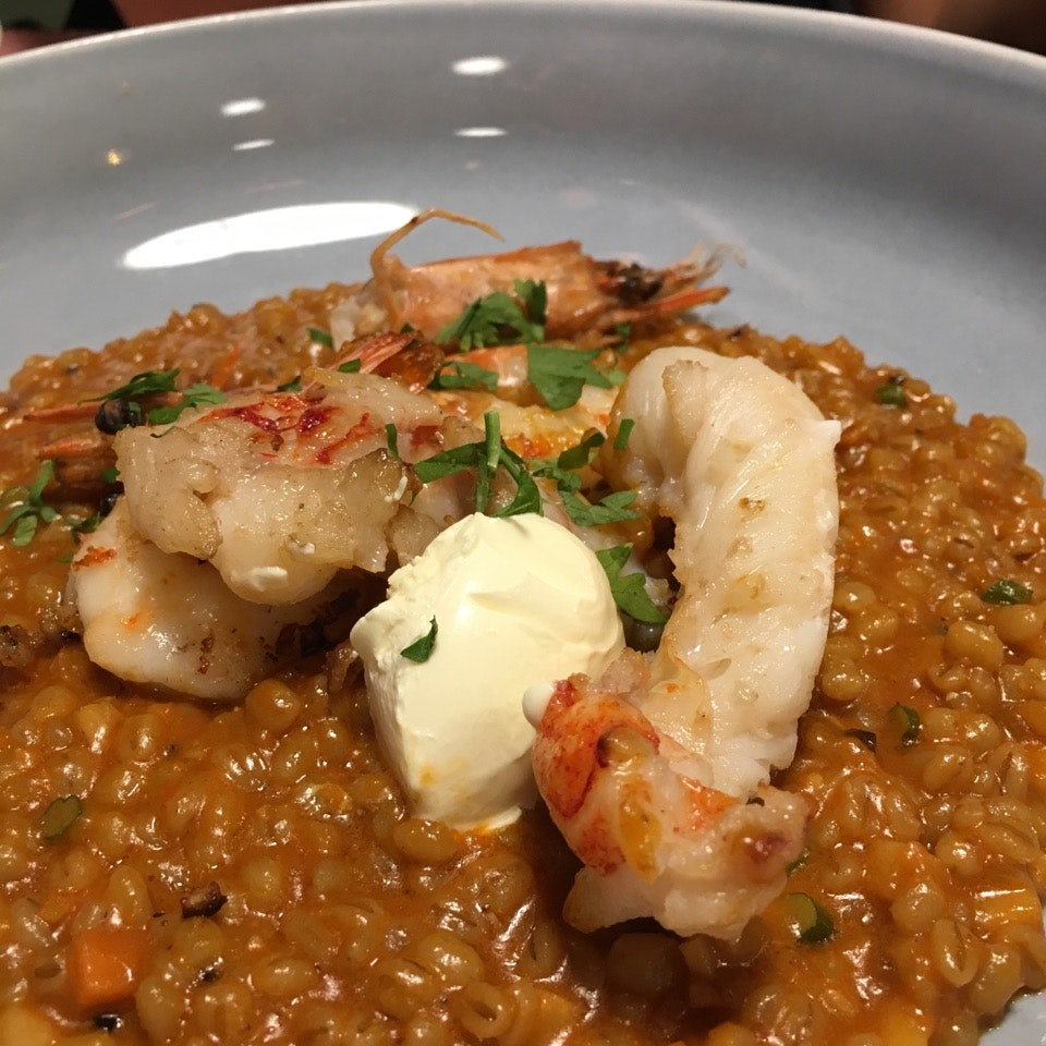 Lobster Barley Risotto