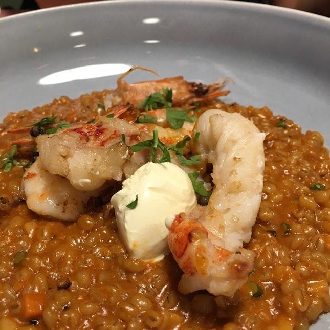 Lobster Barley Risotto