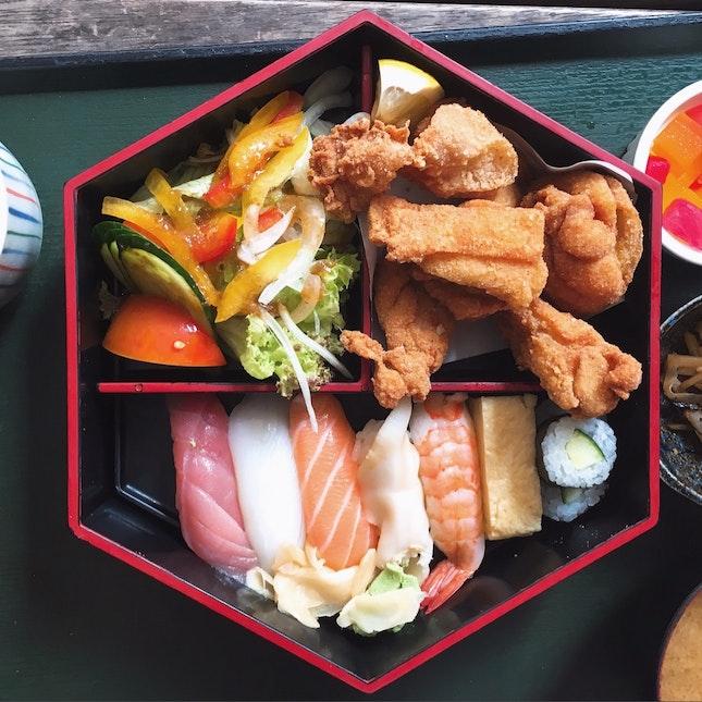 Rakuzen's Daily Set Lunch Special