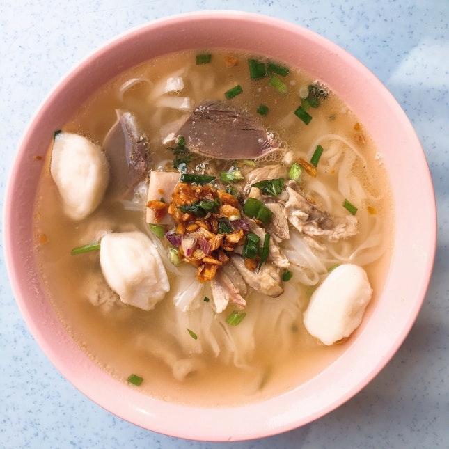Duck Based Kuay Teow Tng