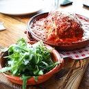 Delish lasagna from Jamie's Italian.