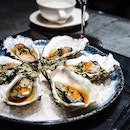 Succulent Oysters from @bam.singapore #Super yummy☝🏻I heart ala-carte items.
