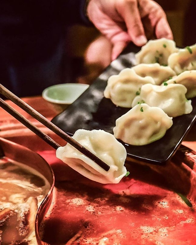 I'm not a dumping 🥟 person but these dumplings are first-class.