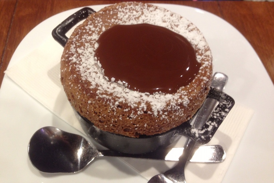Chocolate Souffle $13.80