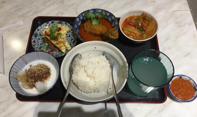 Simple Peranakan Set Meal