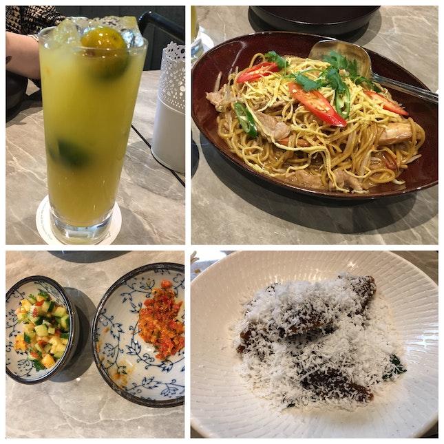 Eurasian Birthday Noodles, Kueh Kosui And Calamansi