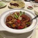 Claypot Chicken And Waxed Sausage