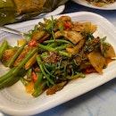 Penang Cuttlefish Kangkong- $8