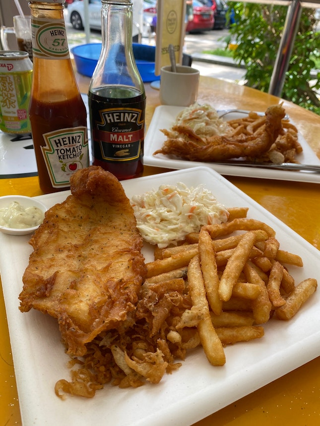 Fish and Chips (Dory)- $7.80