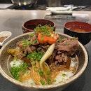 Beef Sukiyaki Don Keisuke- $14.90