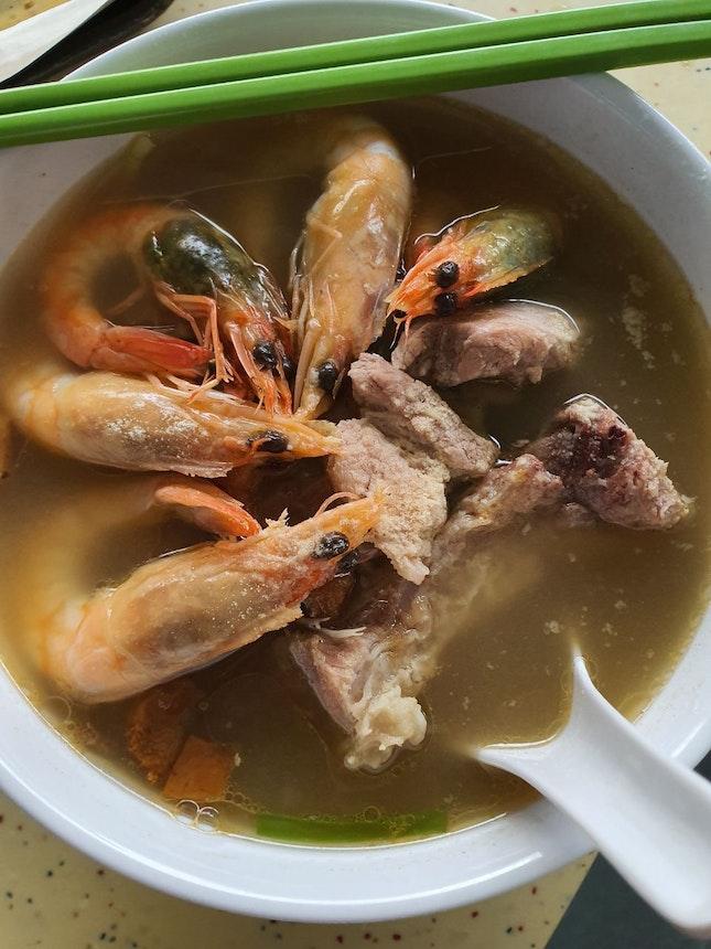 Min Nan Pork Ribs and Prawn Noodles